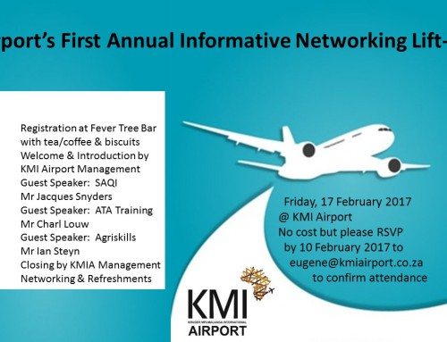 KMI Airport's first annual informative networking lift-off
