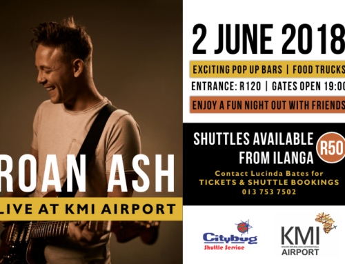 Roan Ash – Live at KMI Airport on 2 June 2018